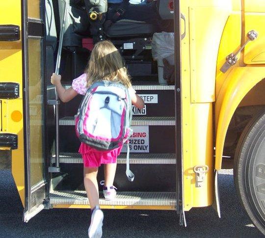 first grade bus