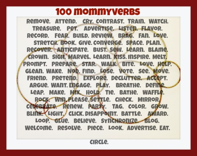 100 mommyverbs