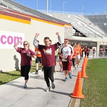 stadium run