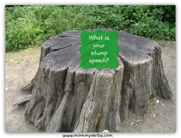 stump speech